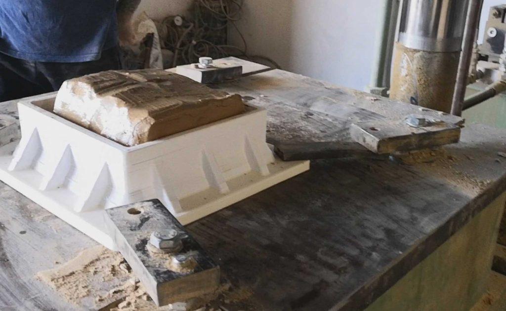 molde ceramica impresión 3d