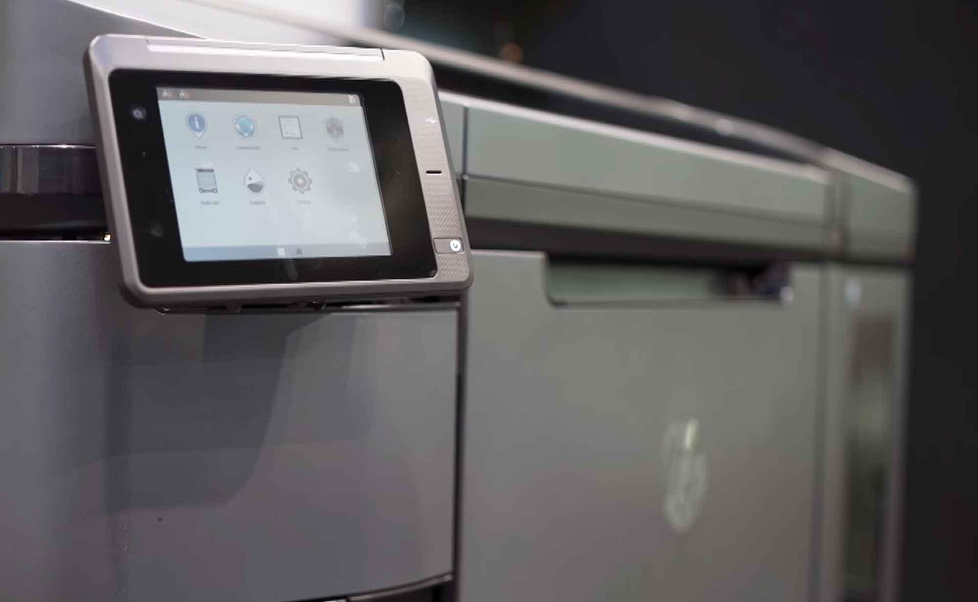 hp impresora 3d multijet fusion