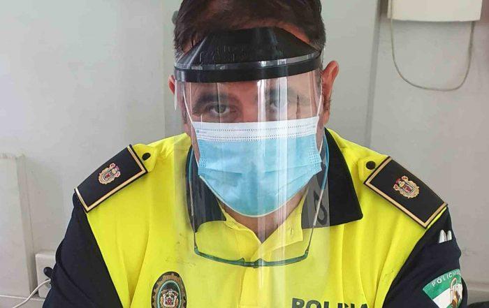 pantalla de protección coronavirus