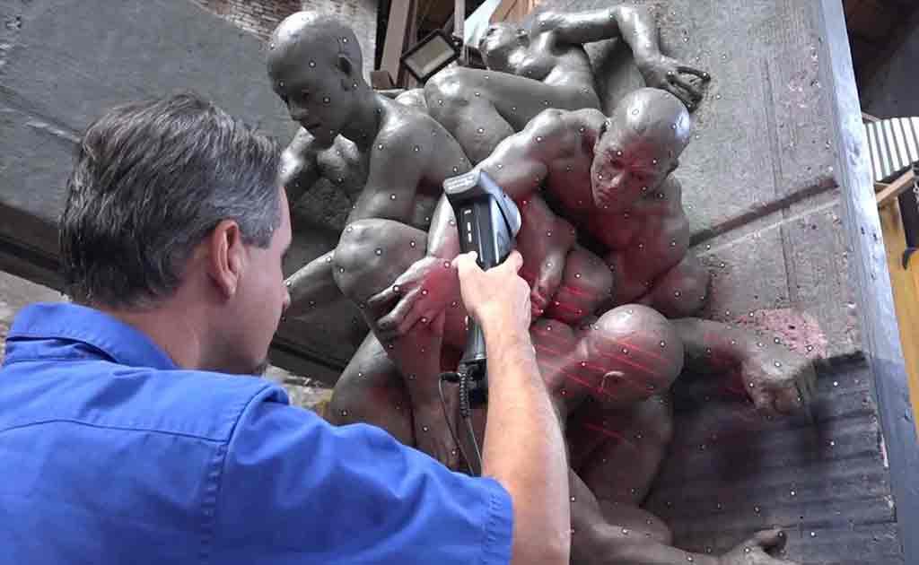 escaneo 3d arte