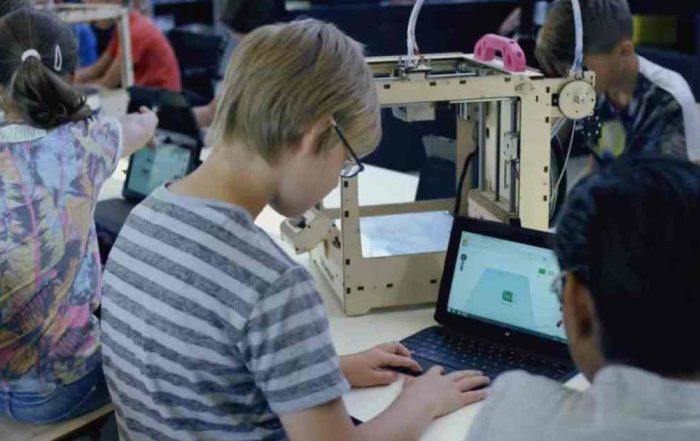 impresión 3d en colegios